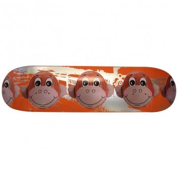 Jeff Koons '1955', Monkey Train Skateboard Deck, Limited Edition, circa 2006