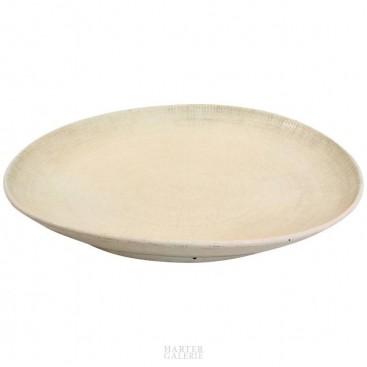 Important Ceramic Plate, circa 1970, France.