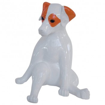 Stéphane Bolongaro, Totor Dog Sculpture, Resin Signed, 2016, France