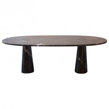 Angelo Mangiarotti, Eros dining table, Circa 1970, Italy.