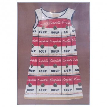 From after Andy Warhol, the Souper Dress, circa 1968