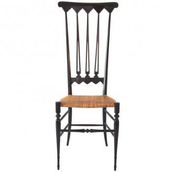 Gio Ponti, Pair Of Chairs, Wood, circa 1970, Italy